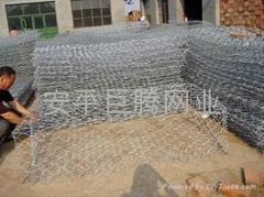 镀锌 包塑石笼网
