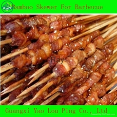 High Quality Bamboo Skewer, Barbecue Skewer, Bamboo&Wooden Barbecue Meat Skewer