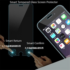 High quality for iphon6 smart phone tempered glass for iphon6Plus screen protect