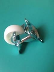 1.5寸PP平底邊剎萬向輪 五金配件轉移腳輪