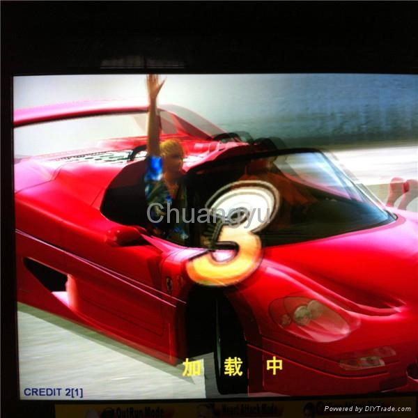 "Simulator car racing game machine - 32""LCD outrun - CY-RM19"