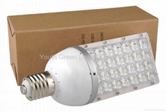 28W E40 screw base LED Street Light for outdoor use from Youth Green Lighting