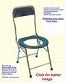 Commode Toilet Chair & Bench