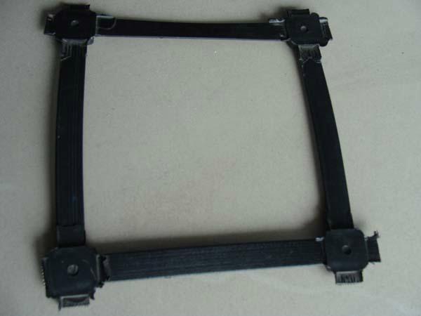 重慶廠家生產路基加固鋼塑雙向土工格柵 1