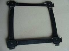 重慶廠家生產路基加固鋼塑雙向土工格柵
