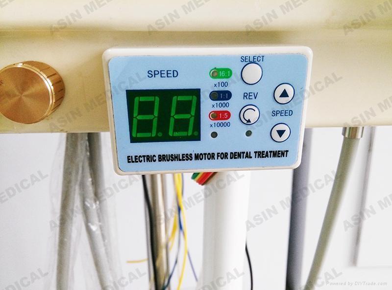24V dental unit built-in Brushless Electric Micro motor LED handpiece fit NSK  5