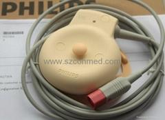 Original US Transducer M2736A , Fetal Probe Transducer for Philips