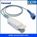 Nellcor adult finger clip spo2 sensor with Oximax,DS-100A,1M 1