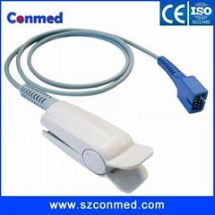 Nellcor adult finger clip spo2 sensor with Oximax,DS-100A,1M