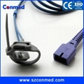 Nellcor adult finger clip spo2 sensor with Oximax,DS-100A,1M 2