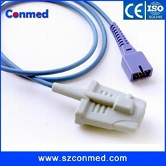 BCI 9pin adult soft tip Spo2 Sensor,pulse oximeter spo2 sensor