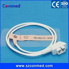 CSI disposable spo2 sensor/probe for neonate,DB 6pin, non-woven