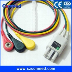 NEC holter recorder ECG patient cable