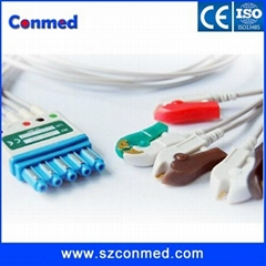 For Philips Lead sets for M2601B transmitters,Patient Monitor ECG cable