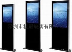 专业生产广告玻璃,显示器玻璃,显示屏玻璃