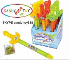 toy candy with water gun
