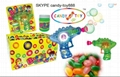 candy toy bubble gun,candy toy,candy and