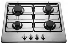 gas hob s/s gas hob gas cooker built-in
