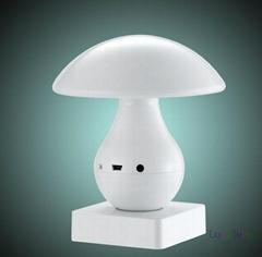 Touch Sensor Mushroom speaker wireless bluetooth LED Table Lamp Light