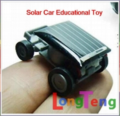 Smallest Solar car toy Educational Toy Mini Children Solar Toy Christmas Gift