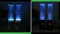 LED Light Dancing Water Speaker Mini Portable Loud Audio Speaker