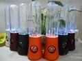 LED Light 3th gen water dancing water speaker Music fountain computer speaker