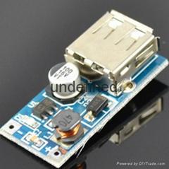 DC-DC Boost Module 0.9V ~ 5V to 5V 600MA USB Mobile Power Boost Circuit Board