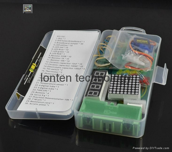 Electronic Parts Pack kit  electronic component package for arduino 1