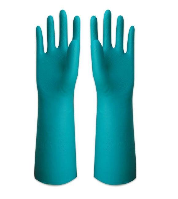 厦门蓝色一次性丁腈手套 1