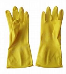 厦门加长牛筋乳胶橡胶手套