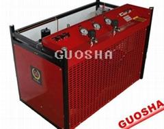 潛水呼吸空氣壓縮機30 mpa  300 bar4500 psi  440V  60HZ  220V 380v