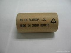 镍镉SC1500mah充电电池