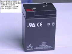 6V4.5AH lead acid rechargeable battery