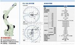 山東青島焊接機器人系統自動化生產線
