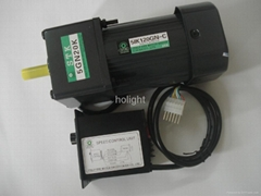 25W single phase Reversible motor with gear box and US-52 speed control