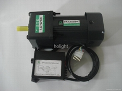 180W single phase Induction motor with gear box and US-52 speed control