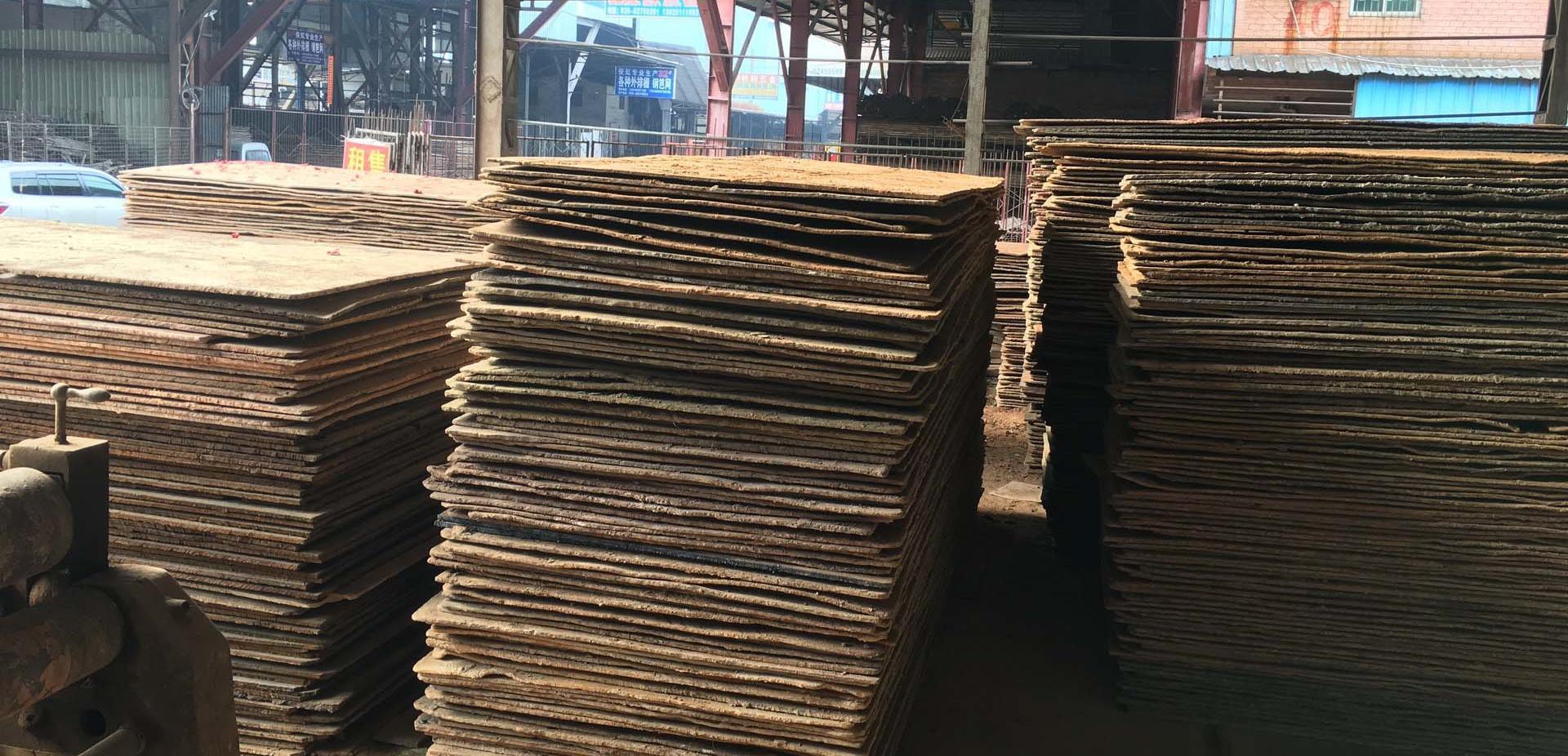 清遠市鋪路鋼板(鐵板)出租 2