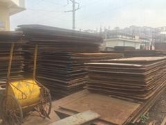 鋪路鋼板船板