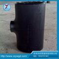 厂家直销Q235B碳钢等径三通 2
