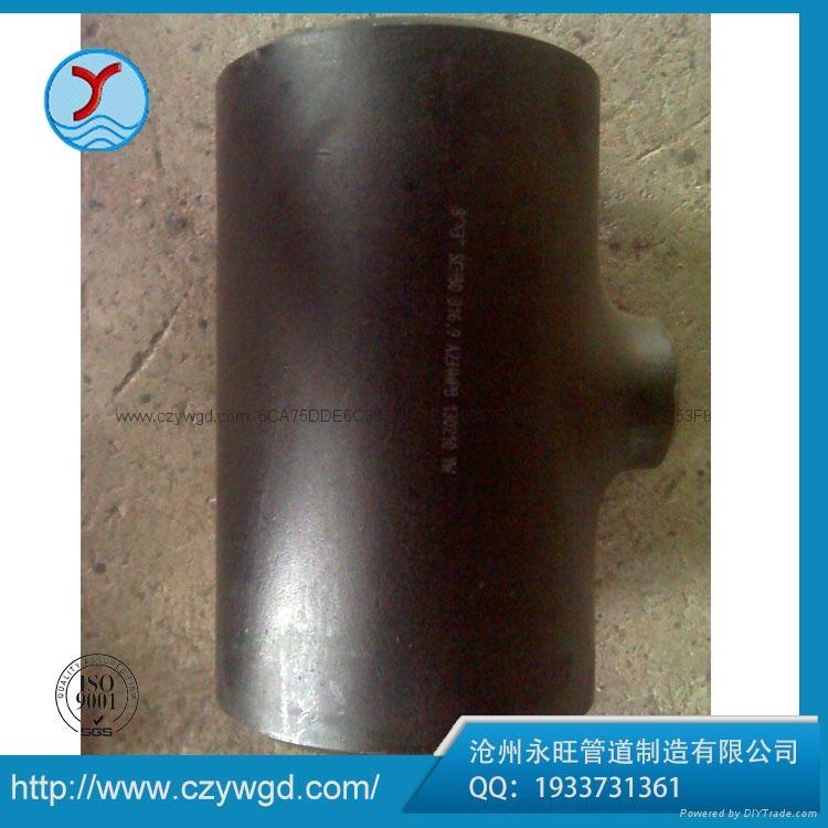 厂家直销Q235B碳钢等径三通 3