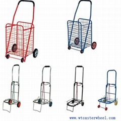 Shopping cart,shopping trolley with basket wire