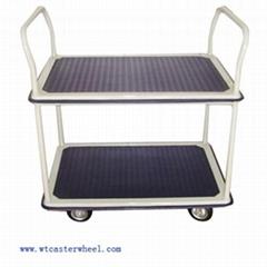Tow layers platform trolley 150KGS 300 KGS