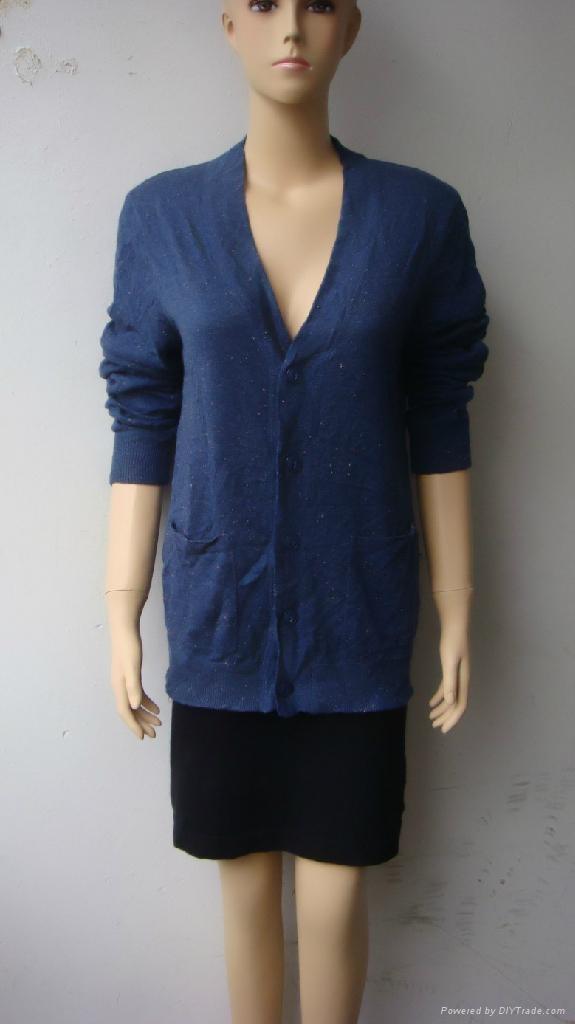 中老年款式長袖開衫 2