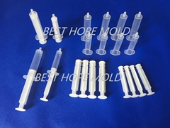 Disposable Syringe Plast