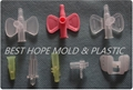 IV Catheter Wing Medical Injection Plastic Mould, The Mould Making