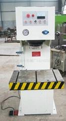 山東YL41-40噸單柱液壓機參數滕州盛豐