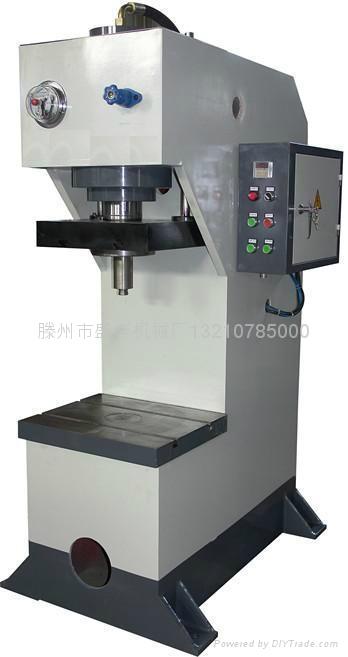 YQ41-60T单柱液压机哪里的好滕州盛丰 1