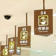 供應吊挂牌標識,廣告標牌加工