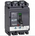 Schneider Molded Case Low Voltage Circuit Breakers Compact NSX DC
