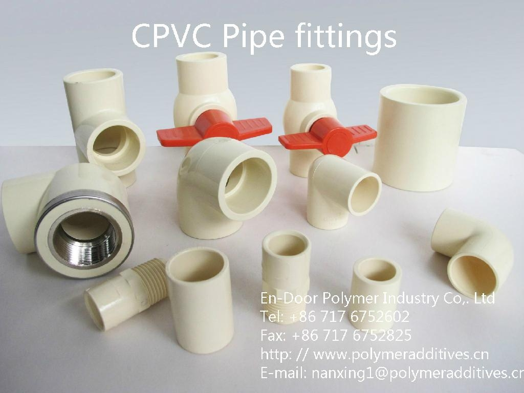 Cpvc pipe fittings en door china manufacturer for Cpvc hot water